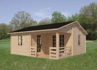 abri jardin chalet bungalow garages ossature en bois cabane castor. Black Bedroom Furniture Sets. Home Design Ideas