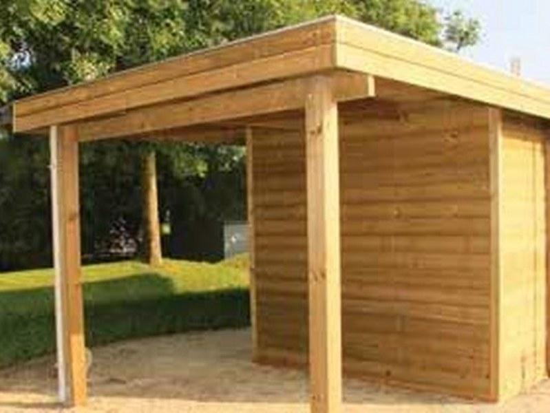 abri jardin chalet bungalow garages ossature en bois cabane modern al tokyo. Black Bedroom Furniture Sets. Home Design Ideas
