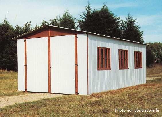 Abri jardin chalet bungalow garages ossature en bois cabane nos batiments bois - Cabane jardin atelier besancon ...