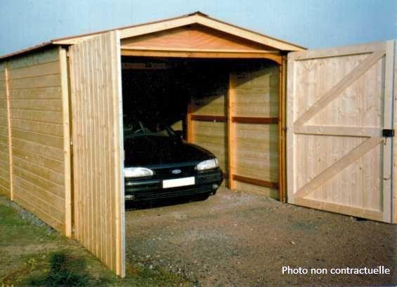 garage en bois des abris martin garages une pente garage deux pentes garages abris de jardin - Abri De Jardin Garage