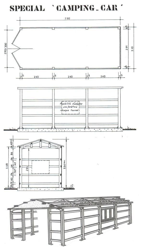 Dimension Porte De Garage Pour Camping Car Tout Pour Votre Voiture